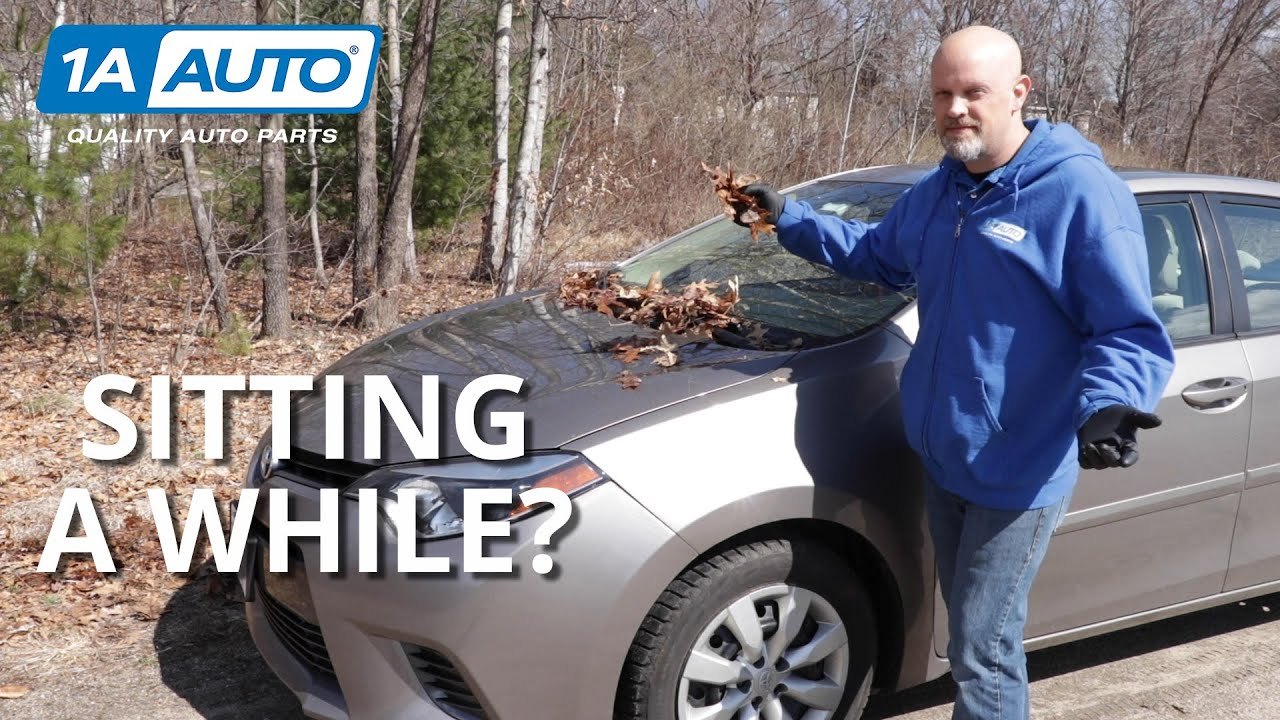 What to Check Before Driving If Your Car Has Been Sitting a While
