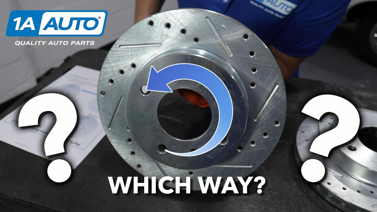 The Correct Direction to Install Performance Rotors on Your Car or Truck