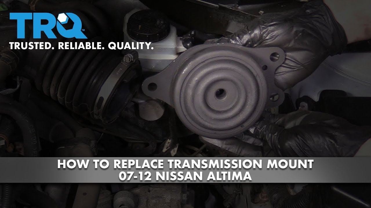 How to Replace Transmission Mount 2007-12 Nissan Altima