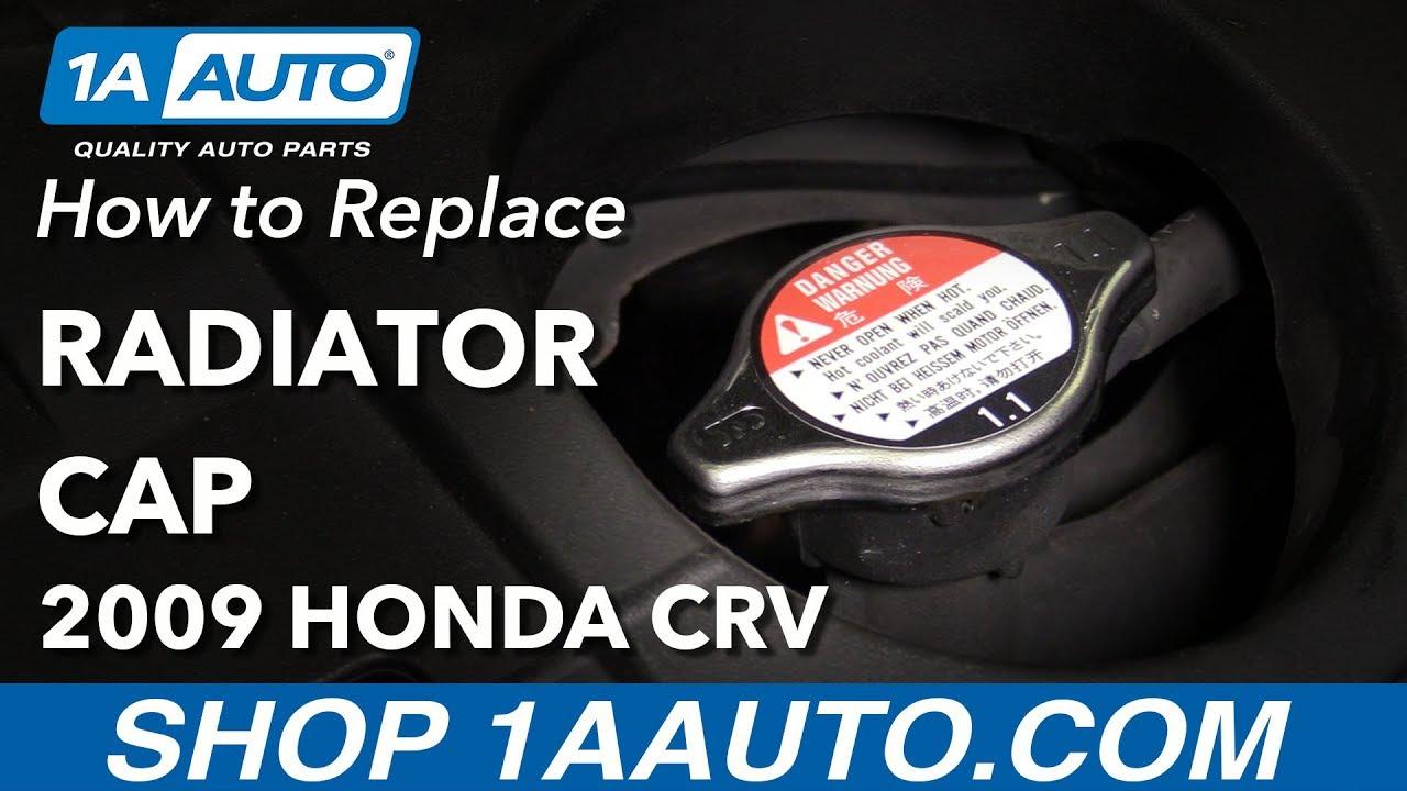 How to Replace Radiator Cap 07-11 Honda CR-V