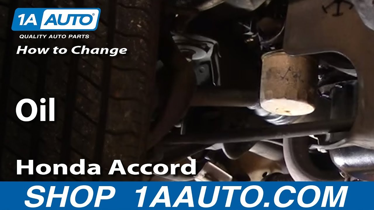 How to Change Oil in Most Cars - Subject Car: 94-97 Honda Accord