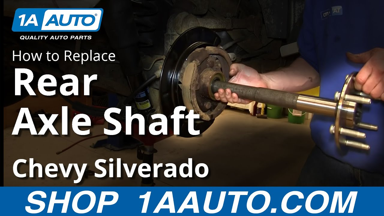 How to Replace Axle Shaft 99-04 Chevy Silverado