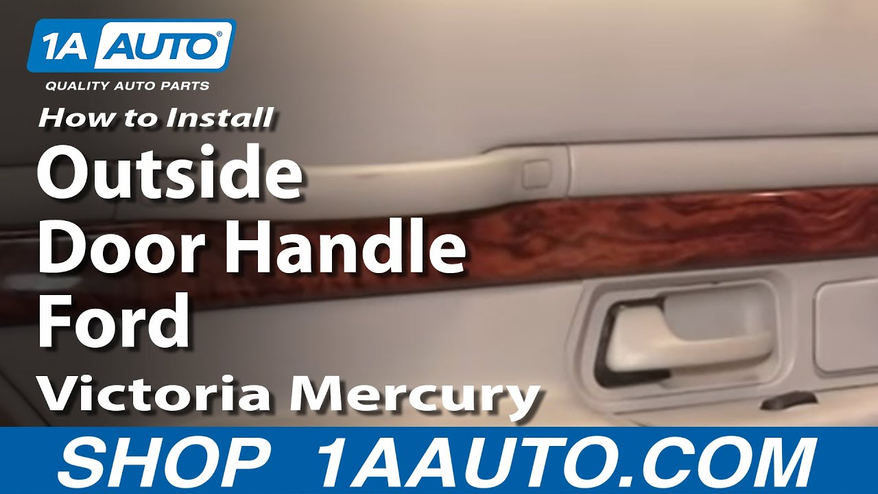 How to Replace Exterior Door Handle 92-11 Mercury Grand Marquis | 1A  Door Wiring Diagram Mercury on 1972 lincoln power window diagram, 1939 buick special diagram, 1951 mercury engine, 6v positive ground generator diagram, 1951 mercury rear suspension, 1956 oldsmobile wiper diagram, 1953 chevy starter diagram, 1951 mercury continental kit, 1957 ford fairlane dash diagram, truck diagram, 1972 chrysler parking brake light diagram, 1950 ford light switch diagram, the 1960 ford fairlane interior diagram, 1951 mercury parts, 1951 plymouth concord electrical diagram, 1951 mercury fuel gauge, 1951 ford radio diagram, ford 8n voltage regulator diagram,