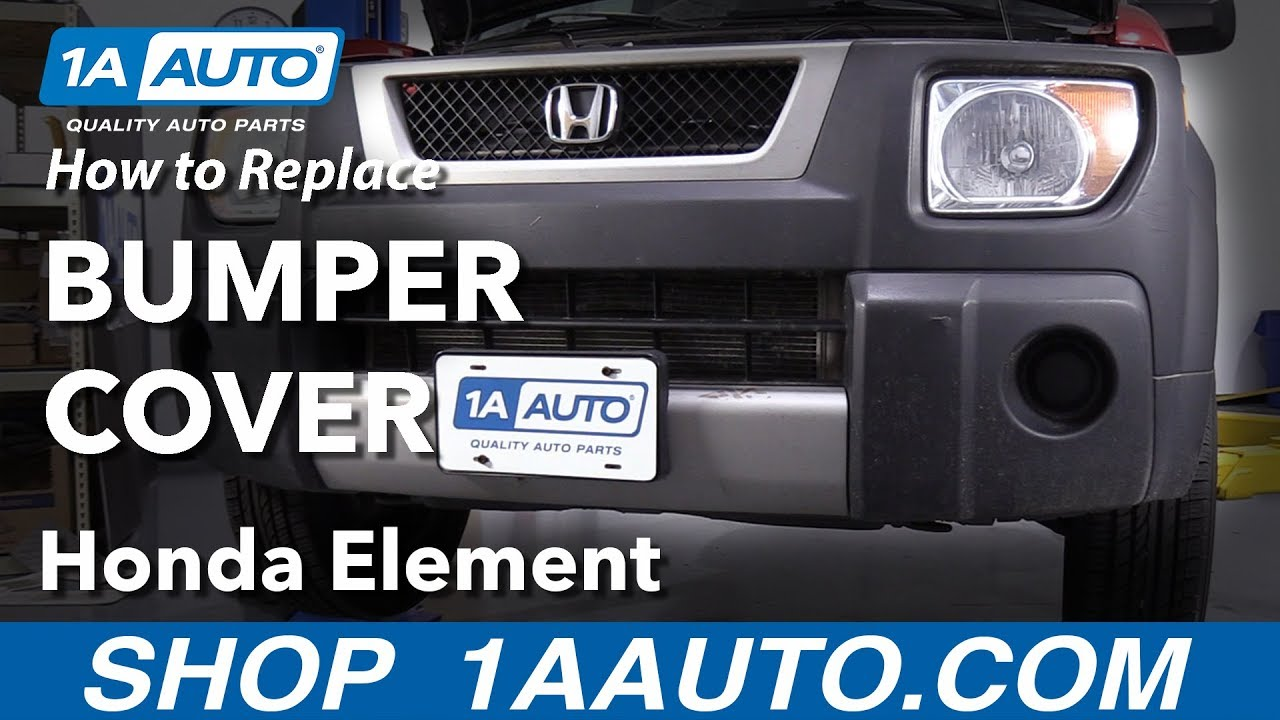 How to Replace Bumper Cover 03-11 Honda Element