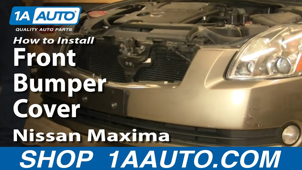 How to Remove Front Bumper 04-08 Nissan Maxima
