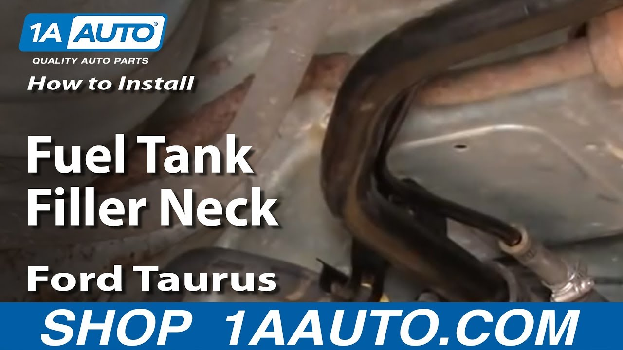 How to Replace Fuel Tank Filler Neck 98-07 Ford Taurus