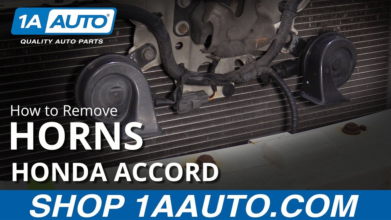How to Replace Horns 03-07 Honda Accord