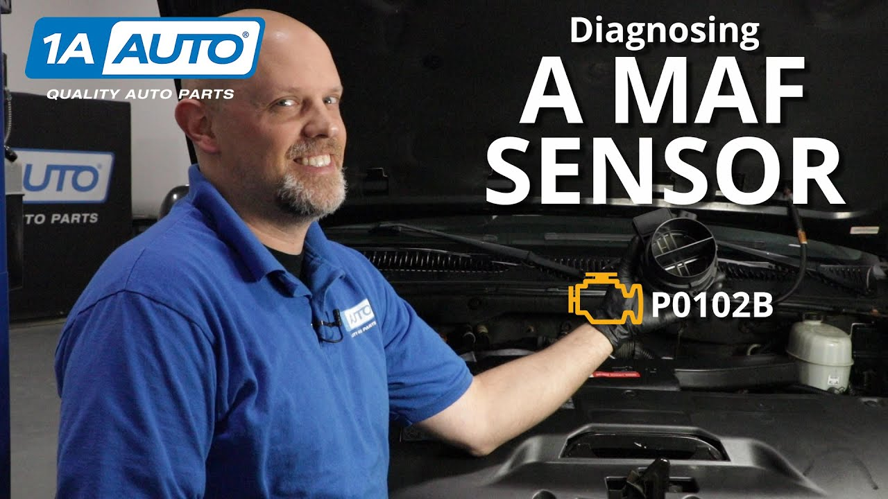 Check Engine Light Mass Airflow Sensor MAF Circuit Code P0102