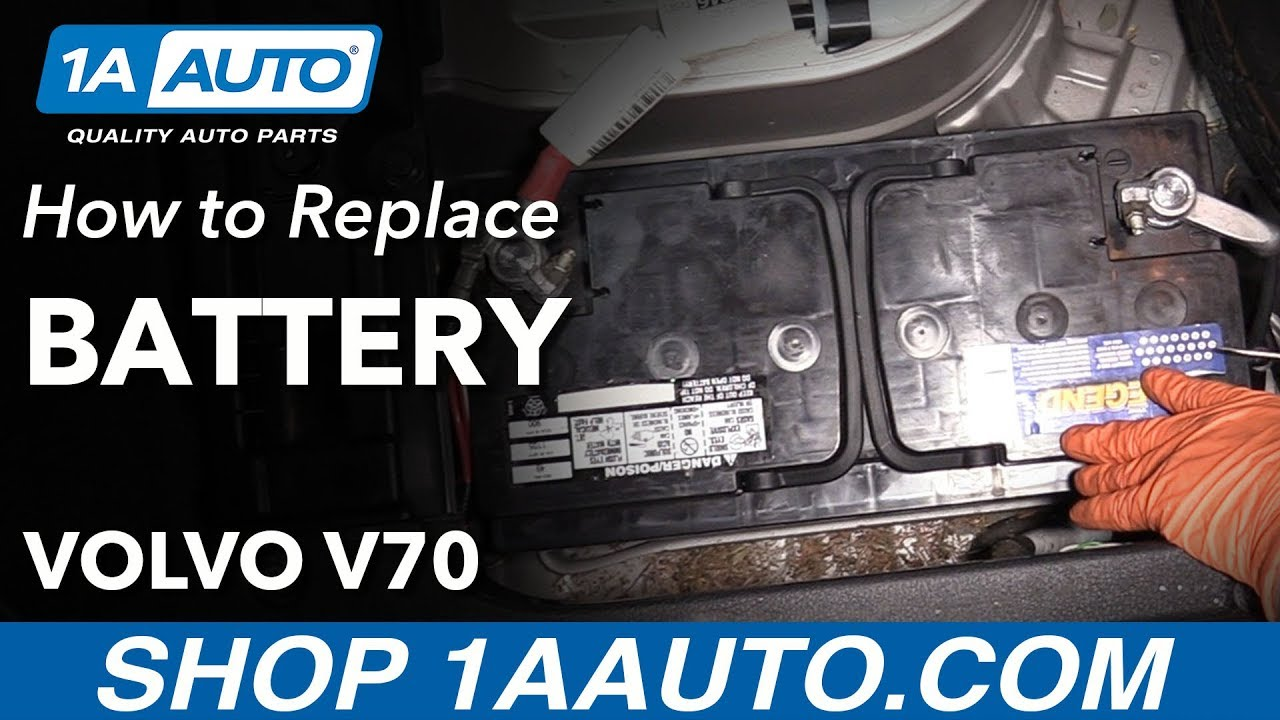 How to Replace Battery 00-07 Volvo V70