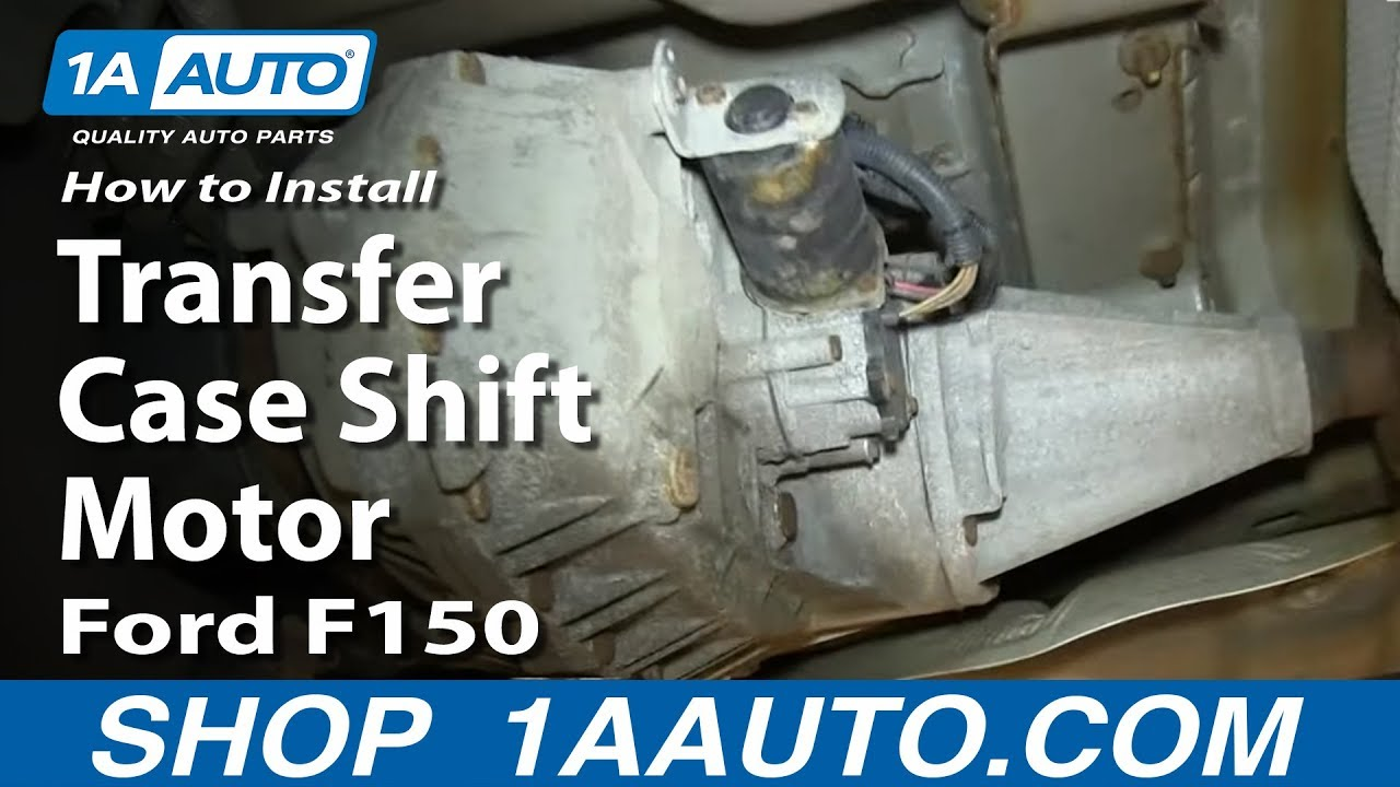 How To Replace 4x4 Transfer Case Shift Motor 0408 Ford