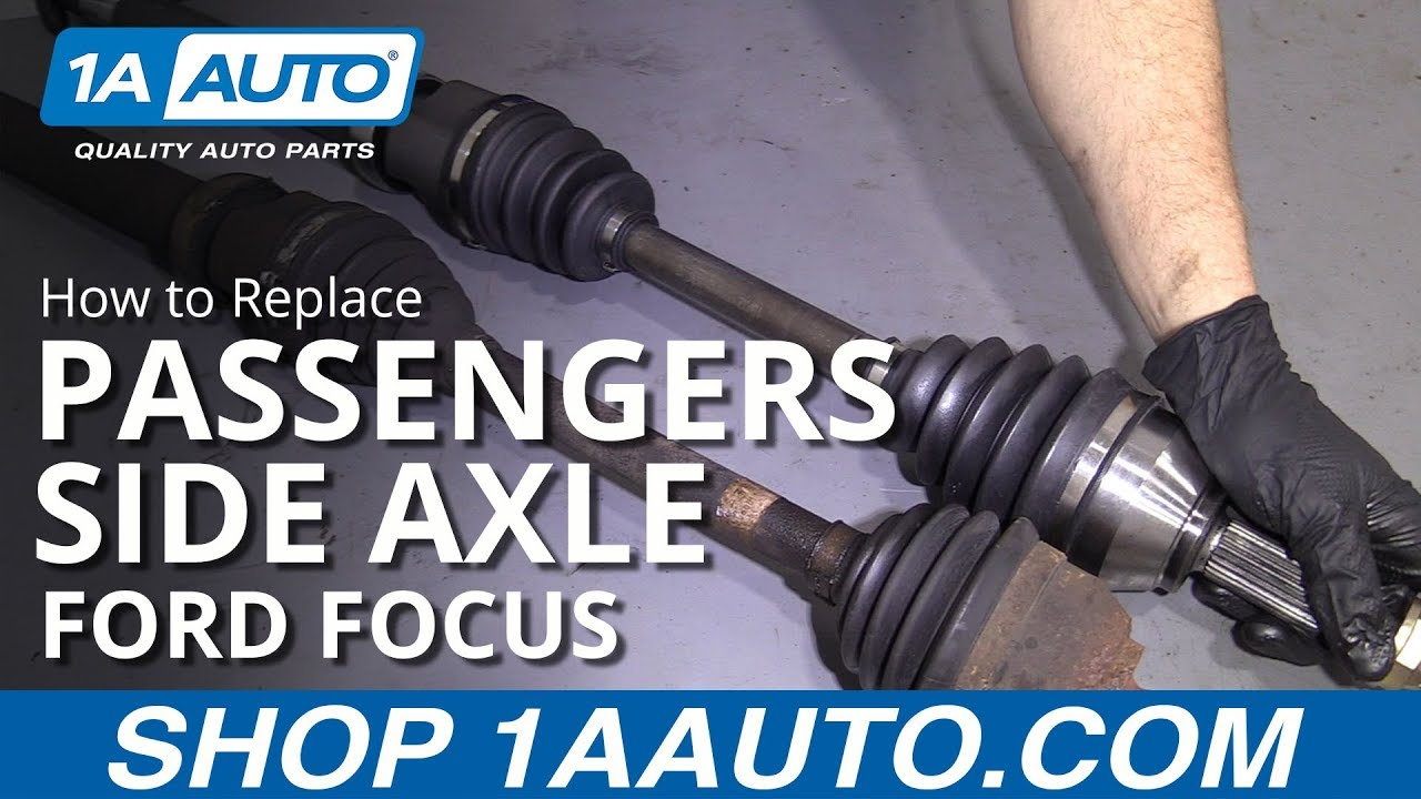 How to Replace Passengers Side Axle 00-11 Ford Focus