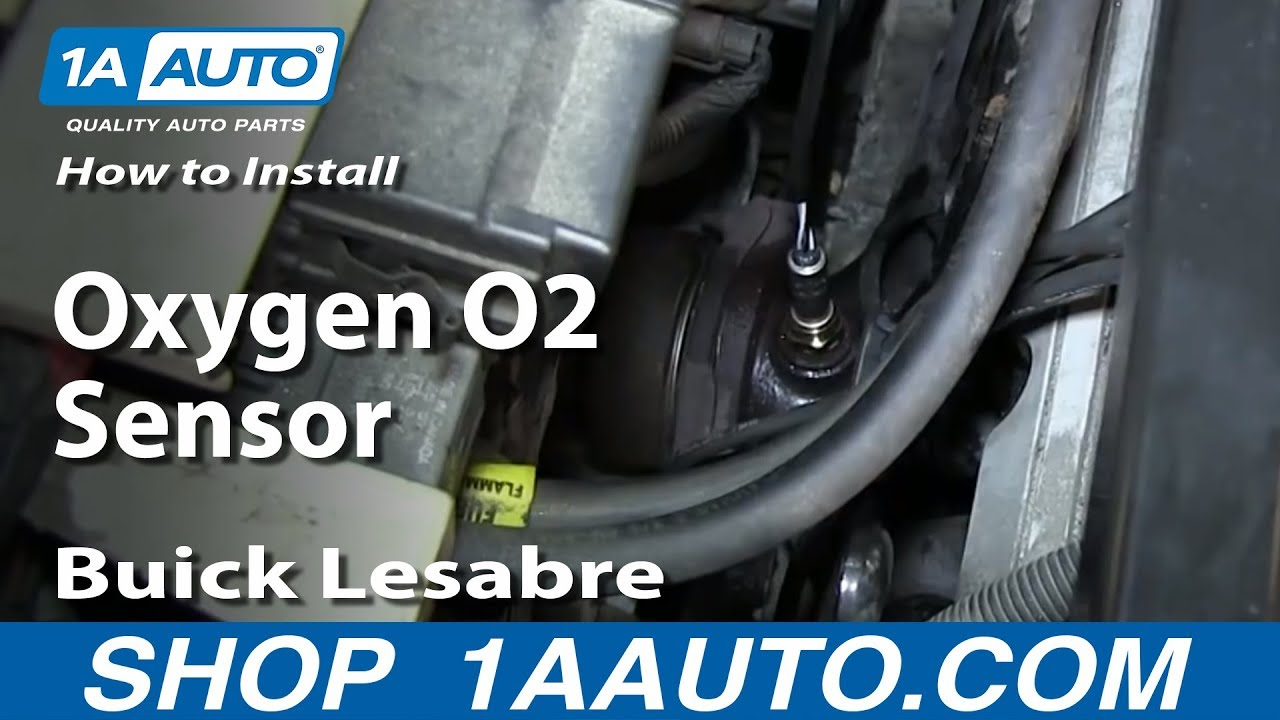 How to Replace O2 Oxygen Sensor 97-03 Buick LeSabre