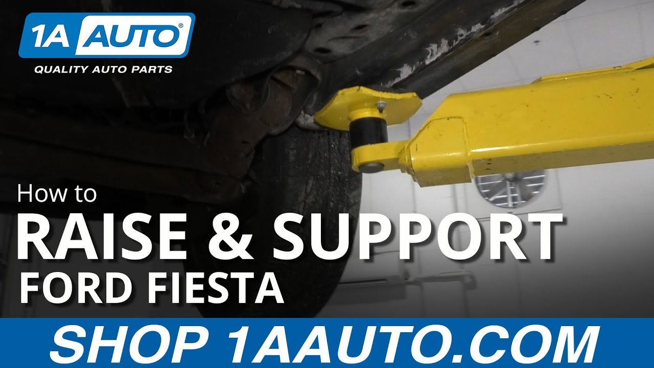 How to Raise & Support 09-19 Ford Fiesta