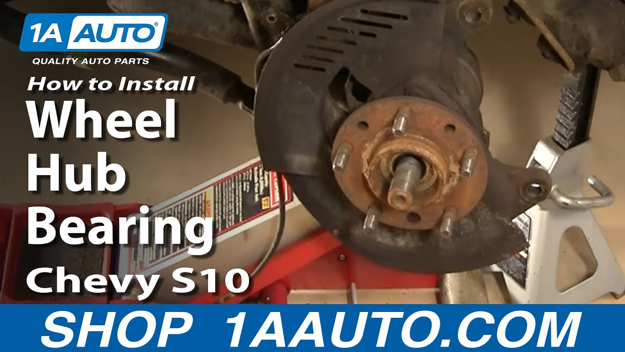 How to Replace Wheel Bearing & Hub embly 98-04 Chevy S10 Pickup Part  Chevy S Way Wire Harness on
