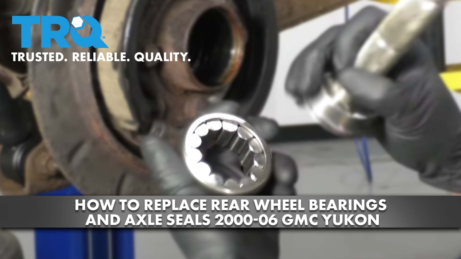 How to Replace Rear Wheel Bearings and Axle Seals 2000-06 GMC Yukon