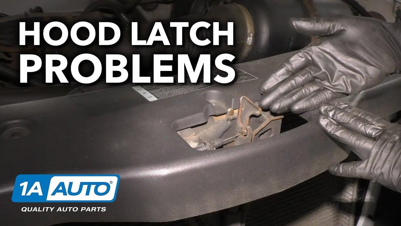 Hood Stuck Shut How to Diagnose Stuck Hood Latch on Your Car  Truck