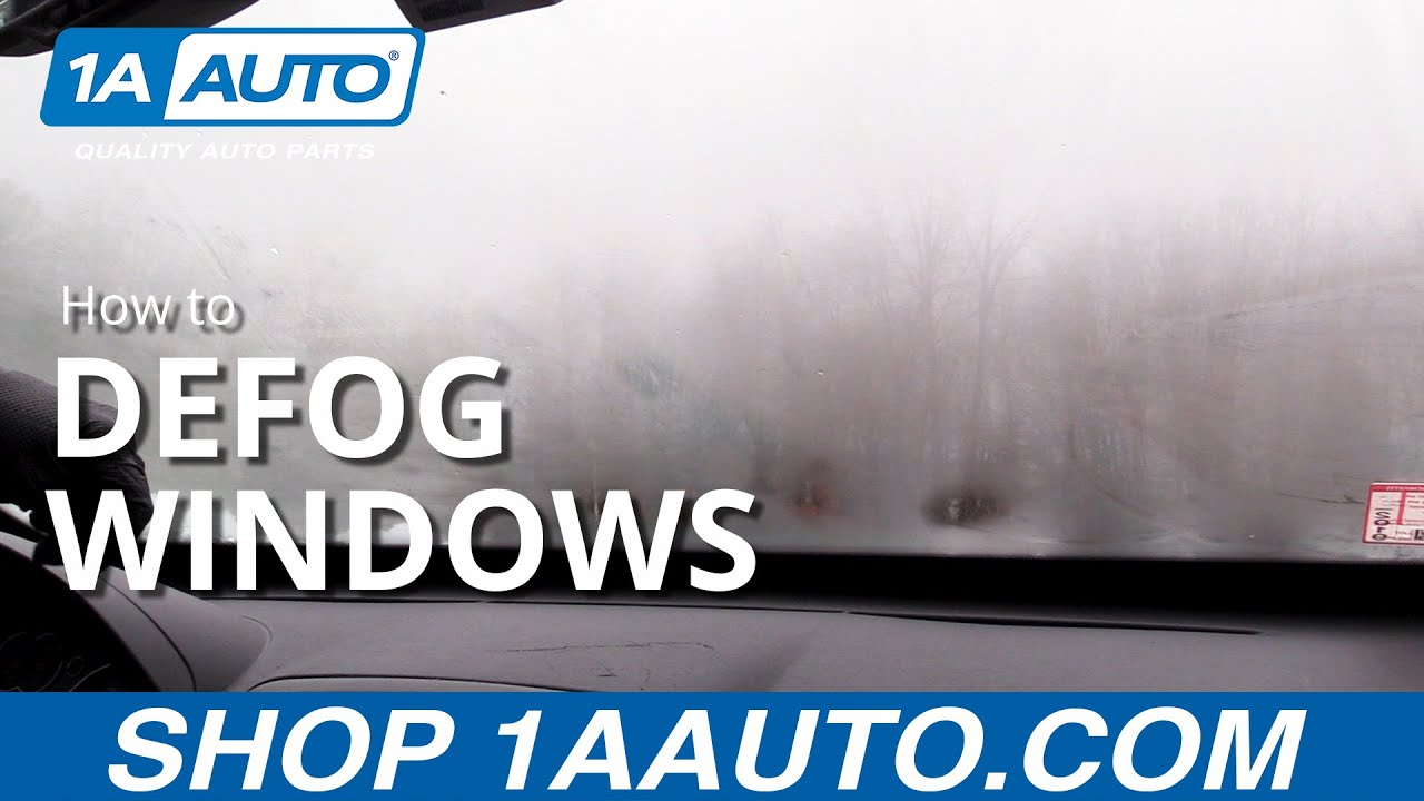 How to Defog Your Windows (Quick and Easy!)