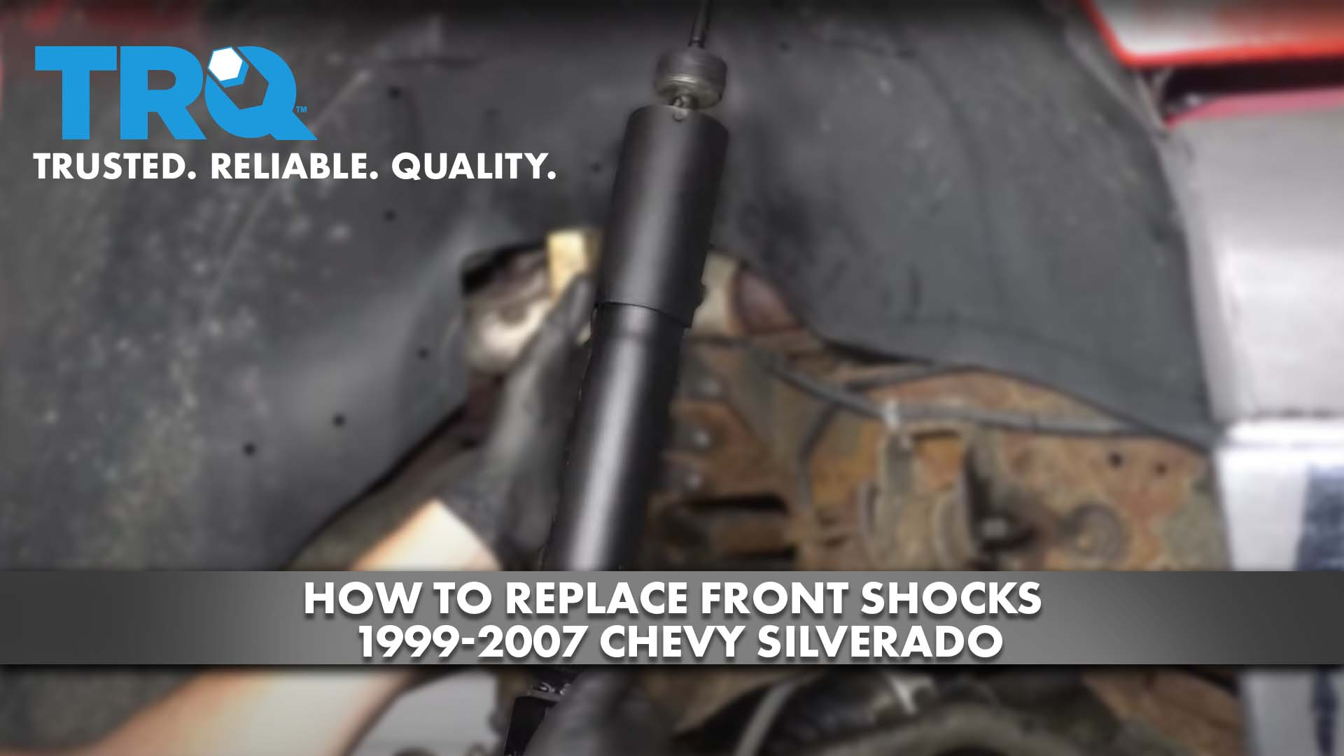How to Replace Front Shocks 1999-07 Chevy Silverado