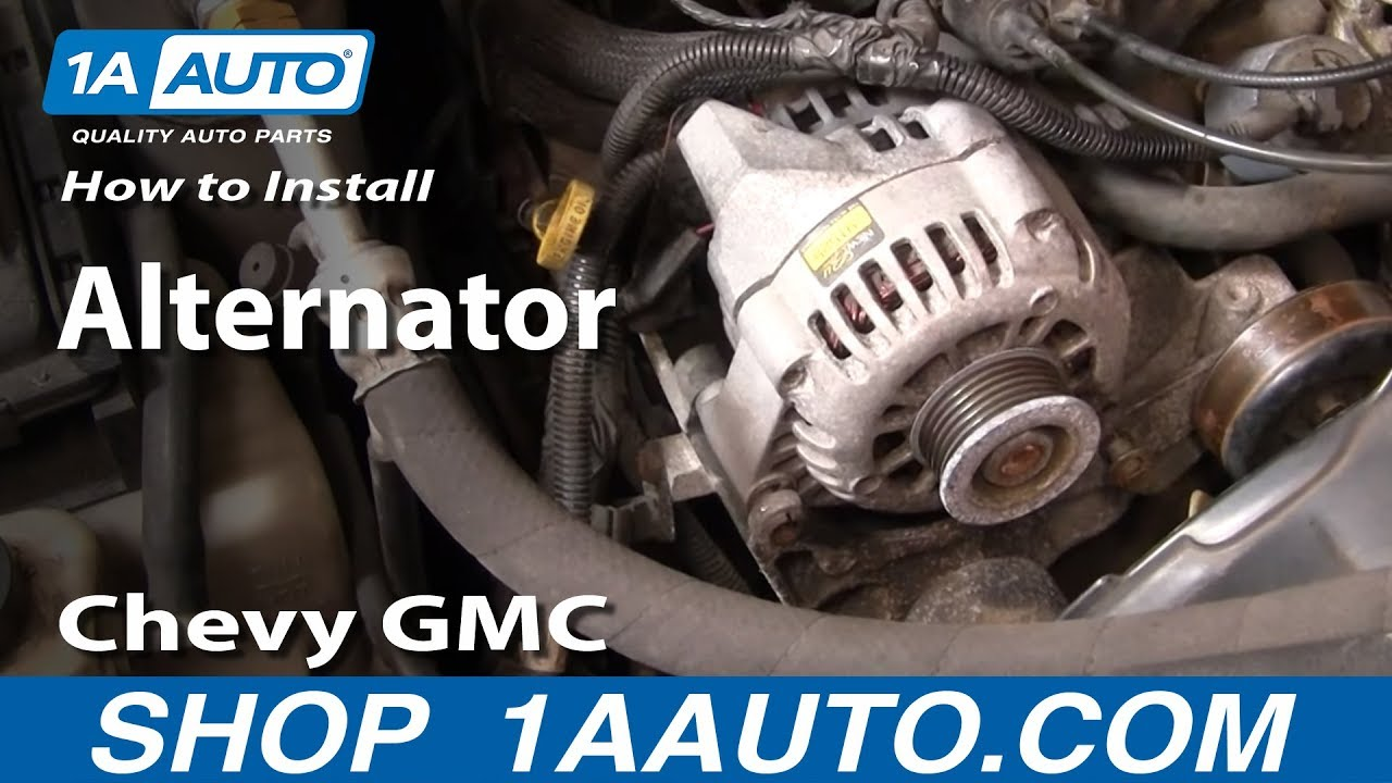 How To Replace Alternator 98