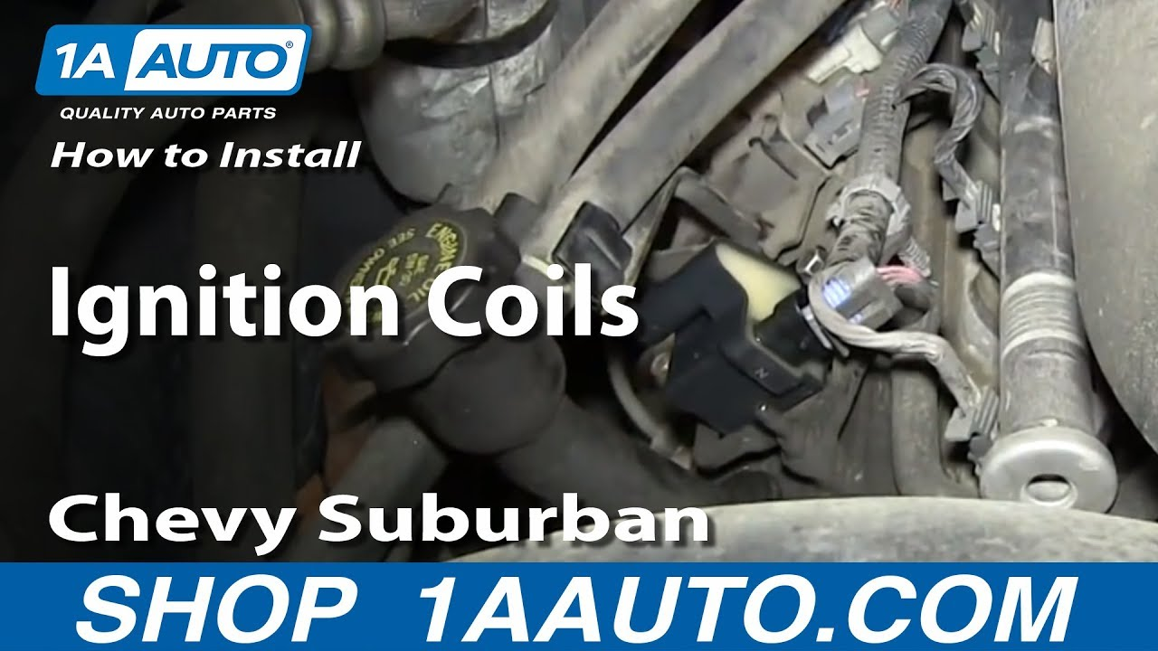 How to Replace Ignition Coil 00-06 Chevy Suburban