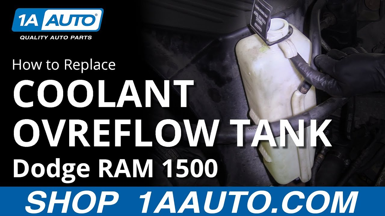 How to Replace Coolant Overflow Tank 94-02 Dodge RAM 1500