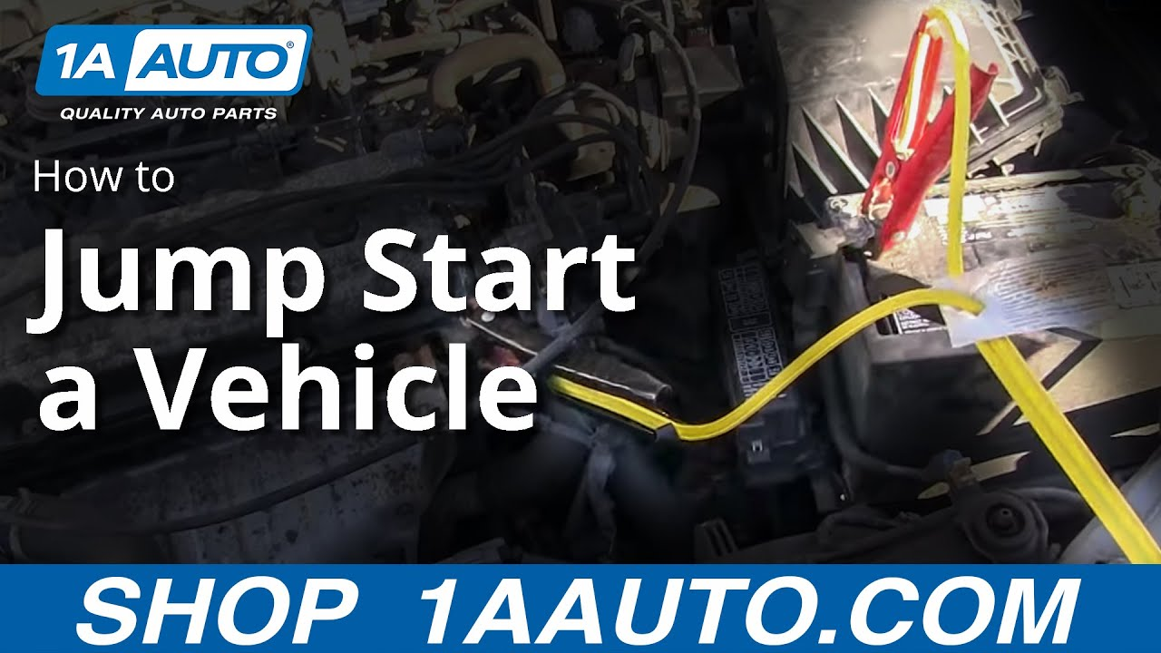 How To Correctly Jump Start a Car With Another Car