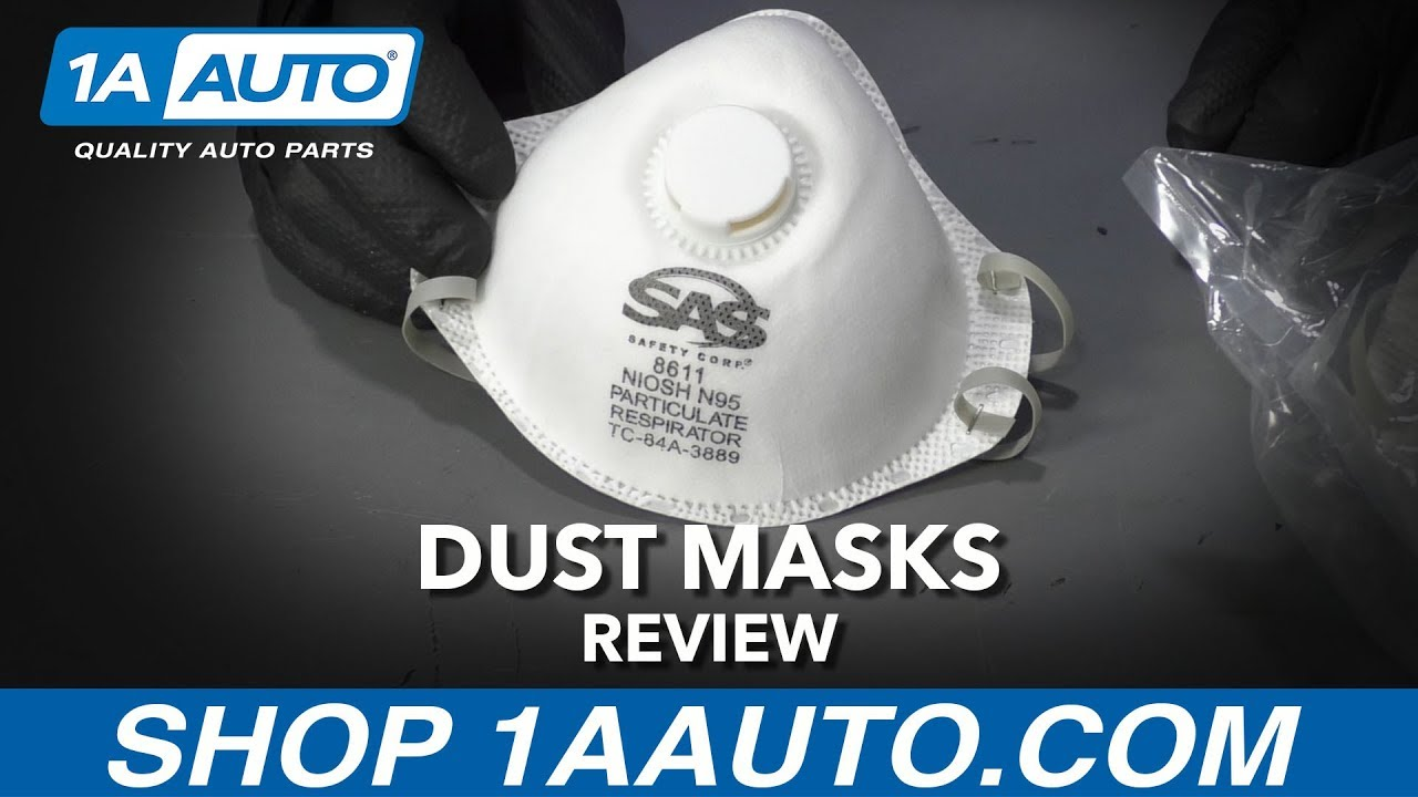 Dust Masks - Available at 1AAuto.com