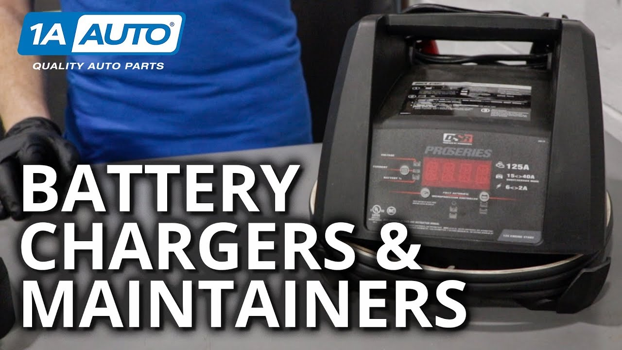 Battery Basics: Charging and Maintaining a Battery