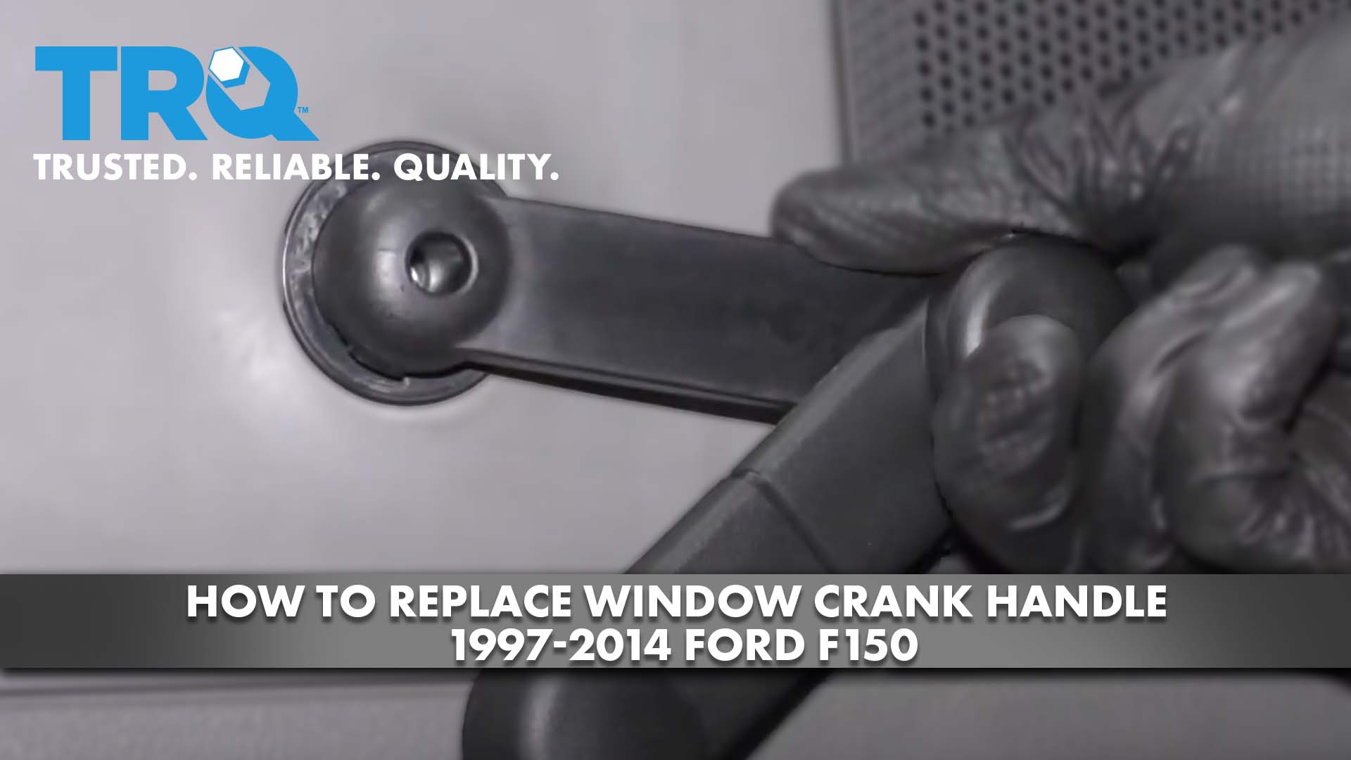 How to Replace Window Crank Handle 1997-2014 Ford F150